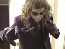 picture of diy joker makeup the dark knight