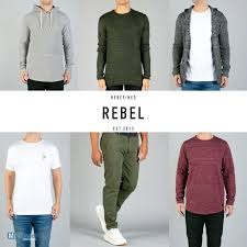 rebel man s autumn winter collection cloths whole
