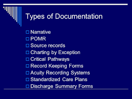 Documentation And Informatics In Nursing Entry Into