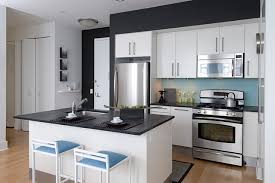 beacon one bedroom residence contemporary kitchen