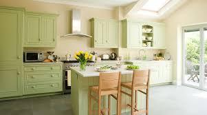 Kitchen:Modern Minimalist White And Green Kitchen Cabinet Combination Ideas  Apple Green Kitchen Cabinet On