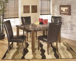 lacey rectangular dining room table 4 uph side chairs