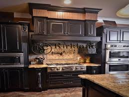 kitchens with black distressed cabinets. Kitchen Cabinets Black Distressed Cabinet Ideas Red And Kitchens With