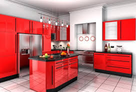 Attractive Black And Red Kitchen Designs H81 About Home Decor Ideas with  Black And Red Kitchen Designs