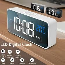 <b>Alarm</b> Clocks & <b>Clock</b> Radios Home & Garden <b>Creative LED Digital</b> ...