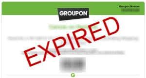 expired groupon