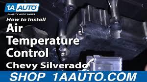 Silverado Ambient Light Sensor Replacement How To Replace Air Temperature Control 00 13 Chevy Silverado 1500