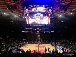 Madison Square Garden Section 2 New York Knicks