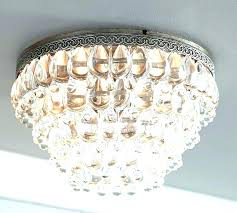 small flush mount chandeliers full image for 4 light chrome semi crystal chandelier bathroom lighting ful