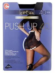 Купить <b>Колготки Omsa</b> Push-Up 40 den, размер 4-L, nero (черный ...