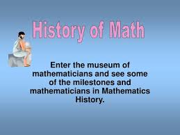 Ppt History Of Math Powerpoint Presentation Id 2985950
