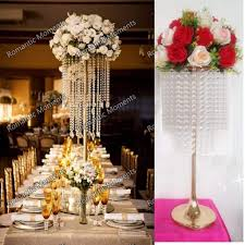fresh images for chandelier wedding decor 62cm 24 4 h wedding crystal table centerpiece gold flower stand pertaining to chandelier wedding