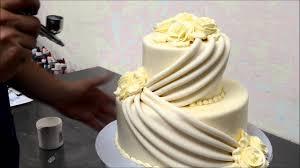 Make Wedding Cakes With Roses Youtube