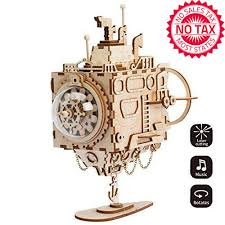 Custom tune music box is the music box which produced with specific tune. Rokr Diy Wooden Music Box Kit Hand Crank Musical Mechanism 3d Model Building Kit