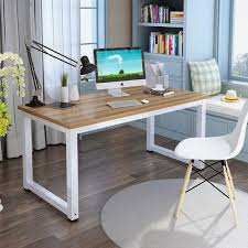Office desk modern Shaped Computer Desk Modern Simple Office Desk Computer Table Study Writing Desk Home Office Overstock Shop Computer Desk Modern Simple Office Desk Computer Table Study
