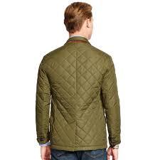 Lyst - Polo ralph lauren Quilted Sport Coat in Green for Men & Gallery. Men's Car Coats ... Adamdwight.com
