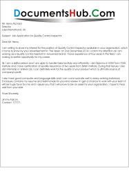 Resume Quality Assurance Inspector Cover Letter Best Inspiration