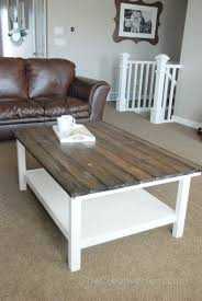 cute diy coffee tables from ikea items