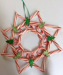 My Friend Missyu0027s Candy Cane Wreath  CANDY CANE WREATHS Candy Cane Wreath Christmas Craft