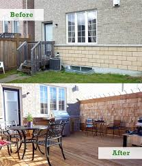 concrete slab patio makeover. Beautiful Makeover Concrete Slab Patio Makeover Elegant Ask A Pro Qu0026a Townhouse Backyard  Of On G