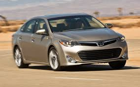 Toyota Avalon: History of Model, Photo Gallery and List of ...