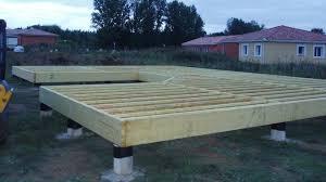 Étape 3 pose du plancher technique bois