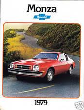 1979 chevy monza 1979 chevy monza dealer showroom brochure literature
