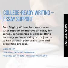 calendar org college ready writing essay support