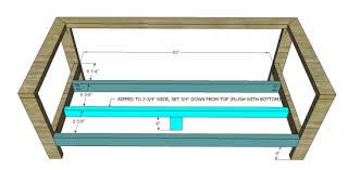 diy outdoor sofa plans. the design confidential free diy furniture plans to build an outdoor reef sofa diy .