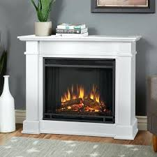 compact electric fireplace white by real flame firebox insert fireplaces 4099