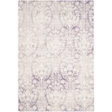 safavieh passion lavender ivory 4 ft x 6 ft area rug