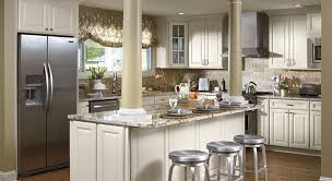 Marvelous Off White Cabinetry In Maple Wood In Briarcliff Door Style ...