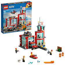 LEGO City Feuerwehr-Station - 60215 günstig kaufen