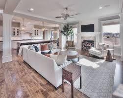 open kitchen living room floor plan. 6 Wonderful Kitchen And Living Room Open Floor Plan U