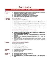 Profile On A Resume Gates Gray Resume Profile Summary Customer