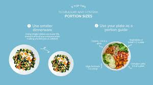 Meal Portion Chart 9 Tips To Measure And Control Portion Sizes