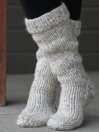 Knitted Sock Patterns Amazing We Like Knitting Chunky Boot Socks Free Pattern Knitting