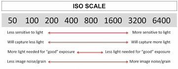 Iso Speed Chart Iso In Photography Photographer Org