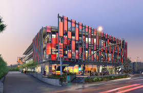 Office facade design Modern The Overall Building Mass And Individual Facade Design Acknowledge The Site Configuration Solar Orientation And Both The Existing And Anticipated Adjacent Unstudio 9919 Jefferson Retail And Offices Culver City Ca Eyrc Architects