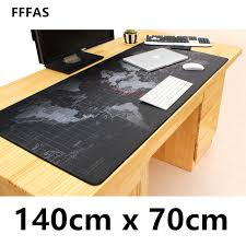 fffas washable 140x70cm xl biggest mouse pad gaming mousepad keyboard mice pc desk mat office table