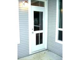french doors with doggie door built in cat pet for screen sliding glass blinds and dog