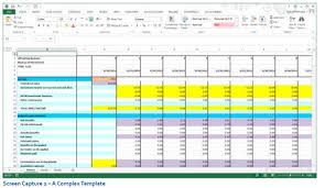 Excel Budgeting Templates Creating Budgeting Input Templates True Sky
