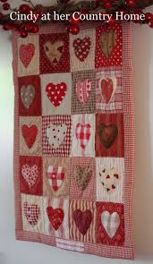 25 best Quilts handmade by Cindy at her Country Home images on ... & Handmade with love - little hearts quilt 2014 Adamdwight.com