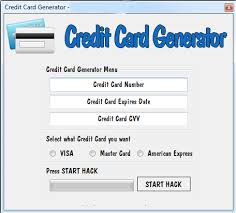 - Card Generator Number Credit Fake