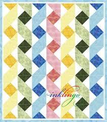 Twisting Ribbons Inklingo Ribbon Baby Quilt | Sewing | Pinterest ... & Twisting Ribbons Inklingo Ribbon Baby Quilt Adamdwight.com