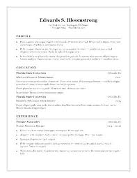 Sample Resume Microsoft Word Magnificent March 48 Sonicajuegos