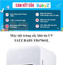 Máy tiệt trùng sấy khô tia UV Fatz Baby FB4706SL là dòng máy tiệt trùng UV  cao cấp mới với thể tích lên tới 17 lít chứa được tới 12 bình sữa