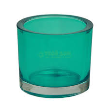 <b>Wittkemper Подсвечник</b> голубо-зеленый 9x9x8см (WA139927 ...