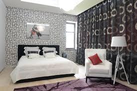 purple modern master bedroom. Fashionable Modern Bedroom Design Black White Purple Colors Master D