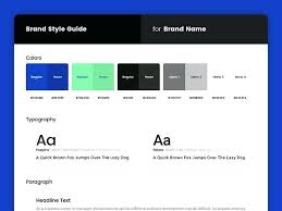 Style Guide Template Word Style Guide Templates For Powerpoint Free Download About Definition